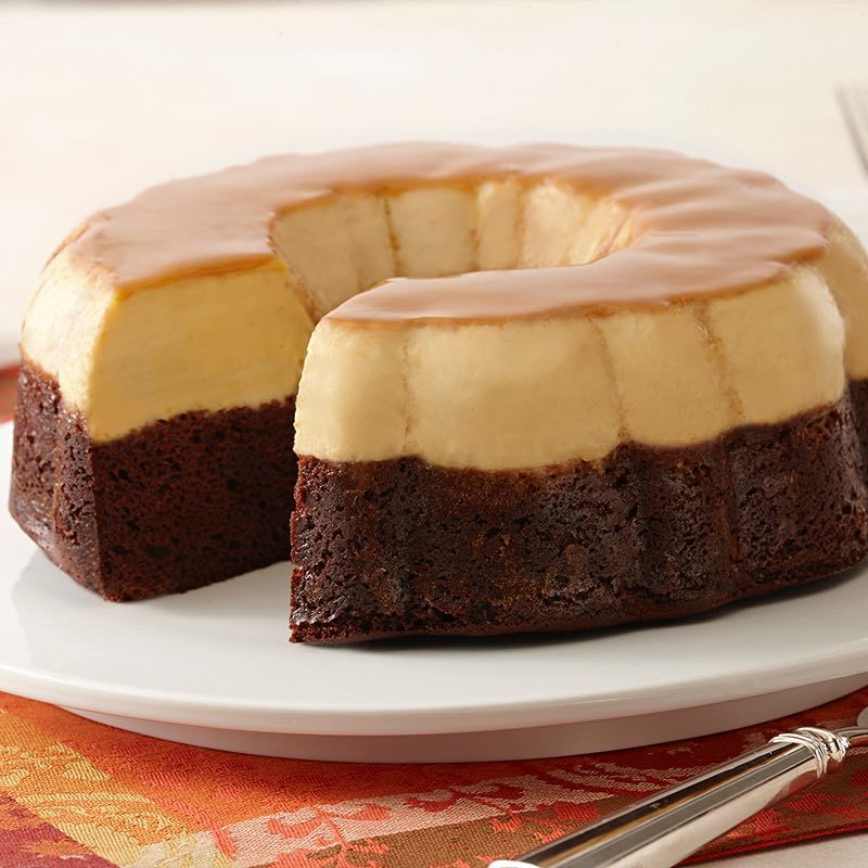 "<span style=""font-weight: bold;"">Choco-Flan</span>"