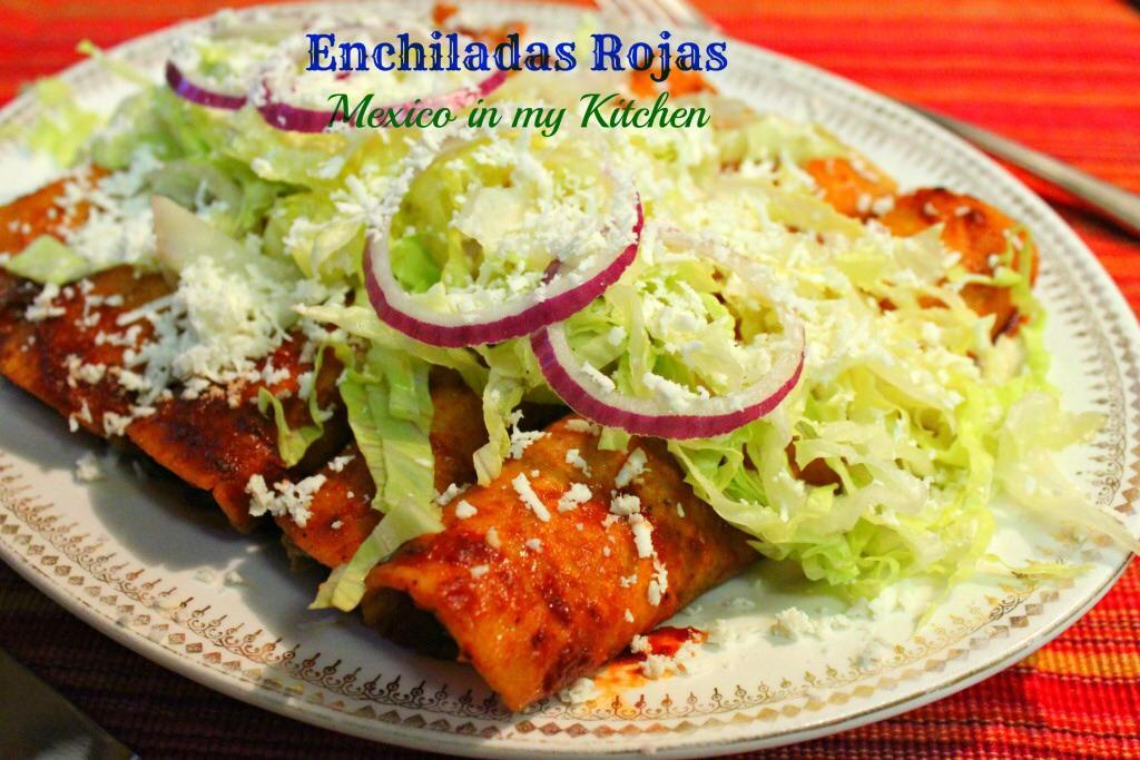 "<span style=""font-weight: bold;"">RED ENCHILADAS</span>"